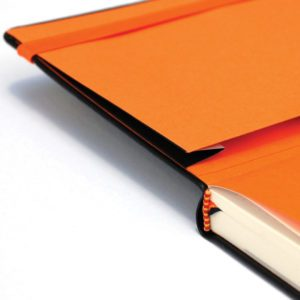 Planner with expandable back pocket