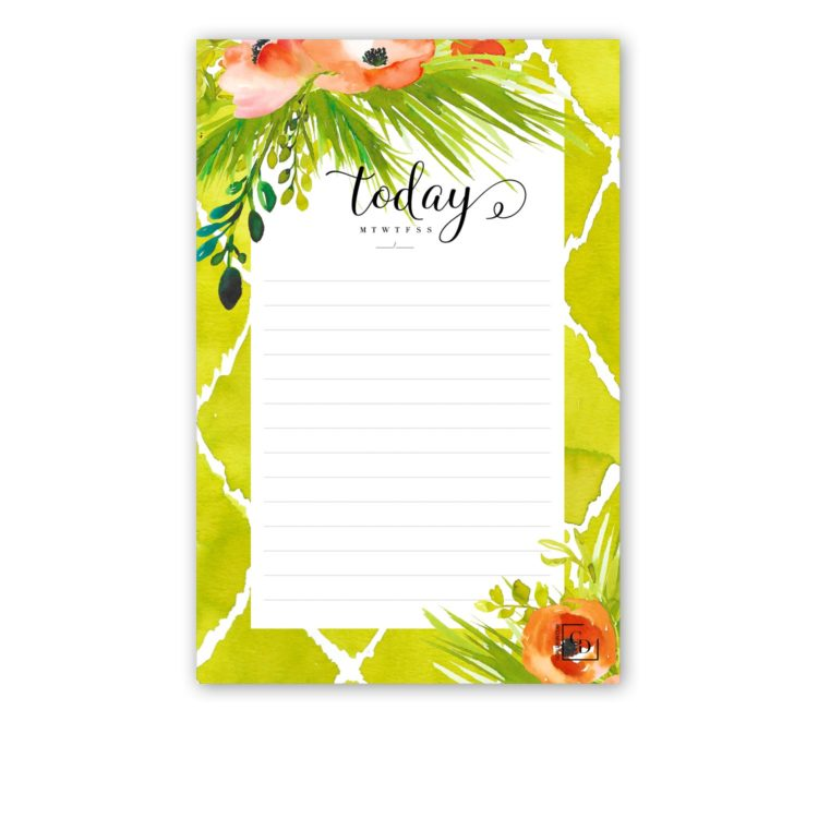 note pads with colorful illustrations
